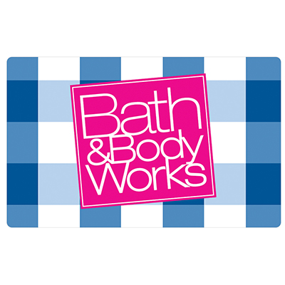 BATH & BODY WORKS<sup>&reg;</sup> $25 Gift Card – Indulge yourself with luxurious fragrances, beauty and home décor products, accessories, and more.