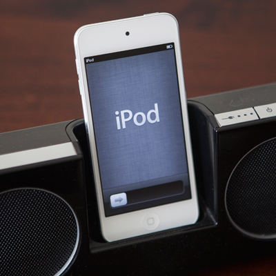 APPLE<sup>®</sup> iPod touch<sup>®</sup> 32GB - This iPod touch features a lightweight, super slim design.  Features include a 4-inch retina display and a 8-megapixel camera for taking stunning photos or record 1080p video. Discover music, movies, and more from the iTunes Store, or browse apps and games from the App Store.