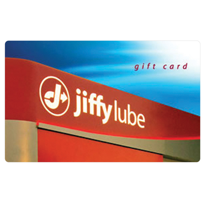 JIFFY LUBE<sup>®</sup> $25 Gift Card - Come see our trained experts for an oil-change, preventive maintenance and more.